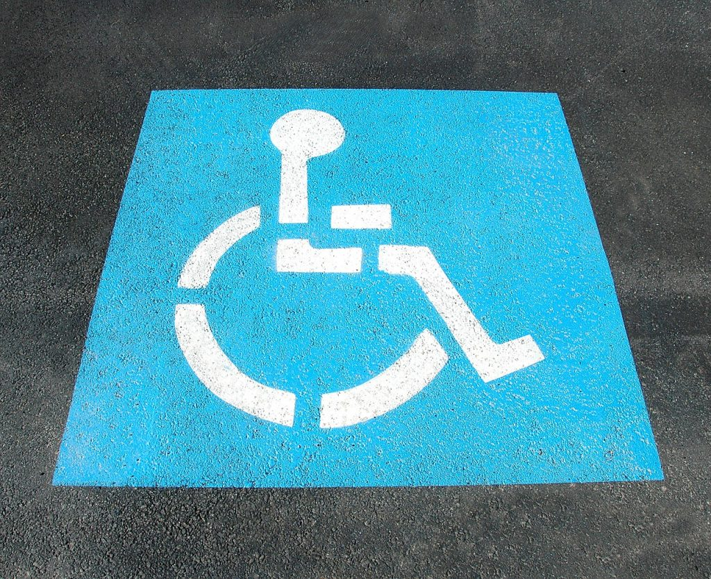 handicap symbol wheelchair