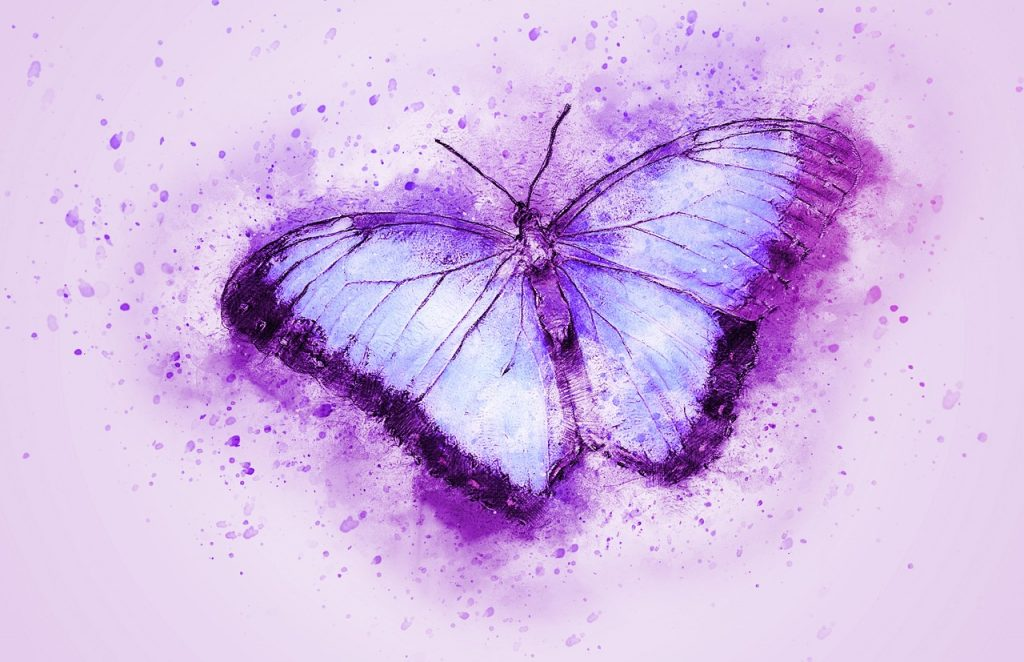 butterfly signifying thyroid awareness month